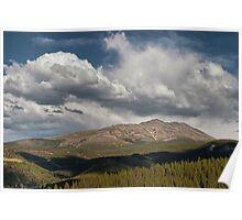 Cloud over Breckenridge Colorado Poster