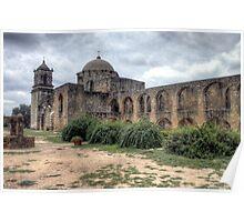 Mission San Jose - San Antonio, Texas Poster
