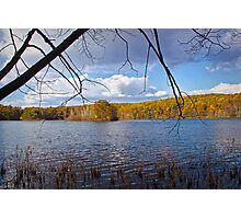 Hall Lake in Autumn Photographic Print