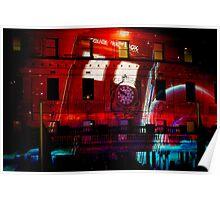 The Light Bright Tardis Poster