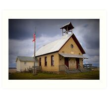 Old Country Schoolhouse Art Print