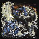 First Kaiju Battle by coinbox tees