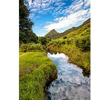 River of clouds Photographic Print