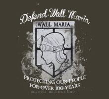 Defend Wall Maria! by weinerdawg