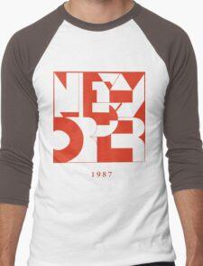 New Order Men's Baseball ¾ T-Shirt