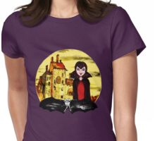 Transylvania Mavis night Womens Fitted T-Shirt