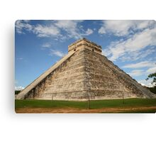 The Pyramid at Chichen Itza, Mexico Canvas Print