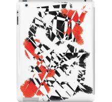 Black and Red iPad Case/Skin