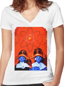 Wives of Stepford Women's Fitted V-Neck T-Shirt