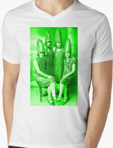 The Glorious Pickle Ladies of Venus Mens V-Neck T-Shirt
