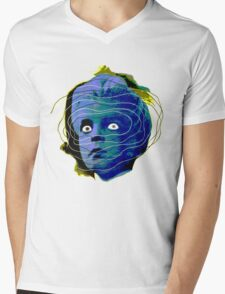 Head of the Damned Mens V-Neck T-Shirt