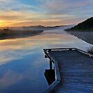 Sunrise, Gellibrand River by pablosvista2