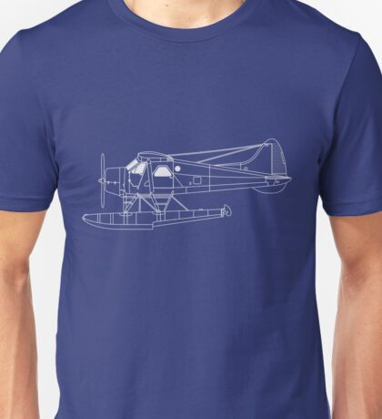 de Havilland Canada (DHC-2) Beaver Blueprint Unisex T-Shirt
