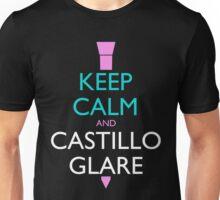 Keep Calm and Castillo Stare (Miami Vice - Dark) Unisex T-Shirt