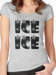 Ice Ice Baby Women's Fitted Scoop T-Shirt