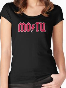 MO/TU Women's Fitted Scoop T-Shirt