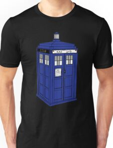 Superwholocked Tardis Unisex T-Shirt