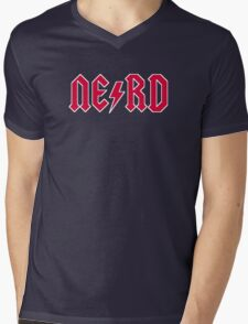 NE/RD Mens V-Neck T-Shirt
