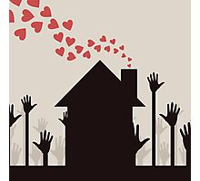 Love house Photographic Print
