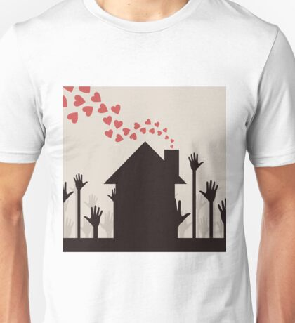 Love house Unisex T-Shirt