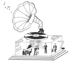 How does a Gramophone actually work? by morethanmeetsdi