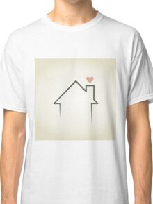 Love the house Classic T-Shirt