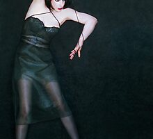 The Struggle To Be Free - Self Portrait by Jaeda DeWalt