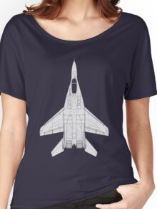 Mikoyan MiG-29 Fulcrum Women's Relaxed Fit T-Shirt
