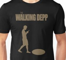 The Walking Depp - Male Smartphone User Texting while Walking Unisex T-Shirt