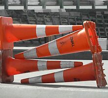 What Traffic Cones Do When Off Duty by PictureNZ