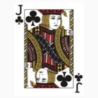 Jack of Clubs Playing Card by CrazyAsia