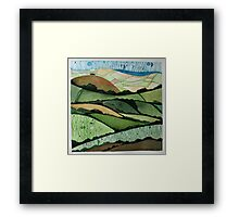 View from Hardown Hill Framed Print