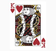 King of Hearts Playing Card by CrazyAsia