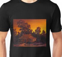 The Pioneers Log Cabin Unisex T-Shirt