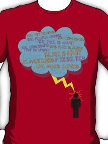 life makes ECHOES. (stick boy.) T-Shirt