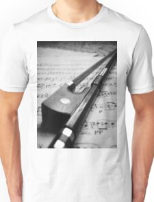 Violin Bow Unisex T-Shirt