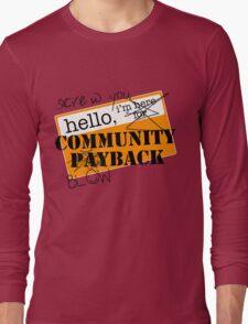 community BLOWBACK. Long Sleeve T-Shirt