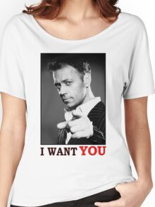I WANT YOU - ROCCO SIFFREDI Women's Relaxed Fit T-Shirt