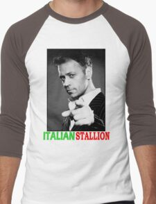 ITALIAN STALLION - ROCCO SIFFREDI Men's Baseball ¾ T-Shirt
