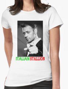 ITALIAN STALLION - ROCCO SIFFREDI Womens Fitted T-Shirt