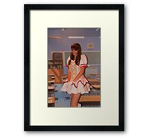 All dressed up at Hyper Japan Earls Court Framed Print