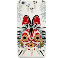 mononoke princess iPhone Case/Skin