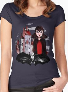 Mavis. Hotel Transylvania Women's Fitted Scoop T-Shirt