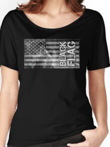 Black Flag Tee Women's Relaxed Fit T-Shirt