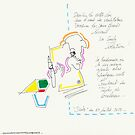 (Night) Nap Drawings 07 - With yeyes closed - 24th July 2013 by Pascale Baud