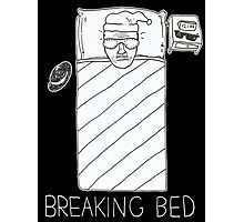 BREAKING BED (4 BLACK) Photographic Print