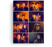 Supernatural - Card/Poster 001 Canvas Print
