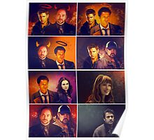 Supernatural - Card/Poster 001 Poster