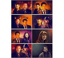 Supernatural - Card/Poster 001 Photographic Print