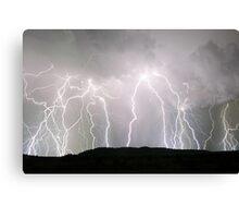"""""""Millmerran super storm""""  Canvas Print"""